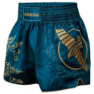 Hayabusa Falcon Muay Thai Shorts Blue