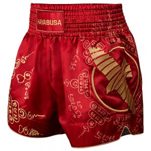 Hayabusa Falcon Muay Thai Shorts Red