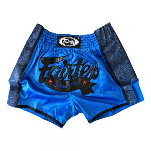 Fairtex BS1702 Royal Blue Slim Cut Muay Thai Shorts