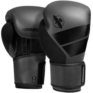 Hayabusa S4 Boxing Glove with Hand Wrap Charcoal