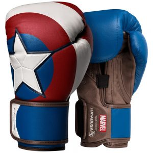 Pre-Order – Hayabusa Marvel Captain America Boxing Gloves