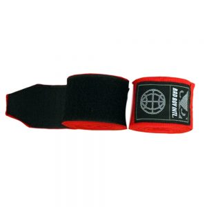 Bad Boy Premium 5m Hand Wraps Red