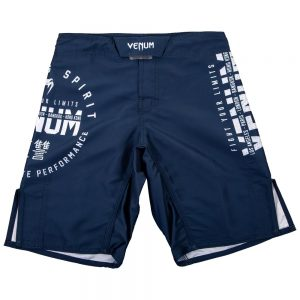 Venum Signature Youth Fight Shorts Navy/White