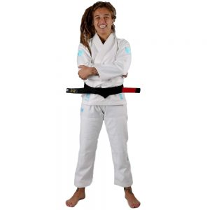 Kingz Womens The ONE Jiu Jitsu Gi White/Blue