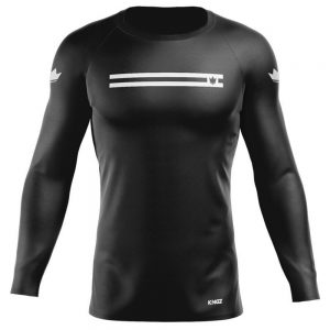 Kingz Sport Ranked Long Sleeve Rashguard Black