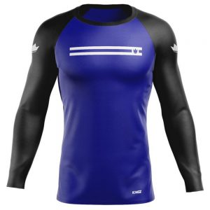 Kingz Sport Ranked Long Sleeve Rashguard Blue