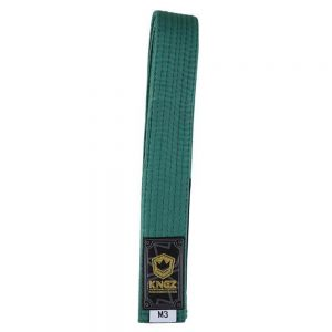 Kingz Kids Belts Solid Colour Green